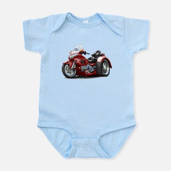 Goldwing Maroon Trike Infant Bodysuit