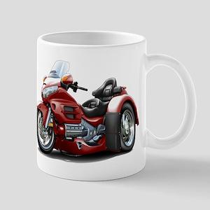 Goldwing Maroon Trike Mug