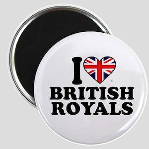 I Heart British Royals Magnet