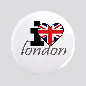 "I Love London 3.5"" Button"