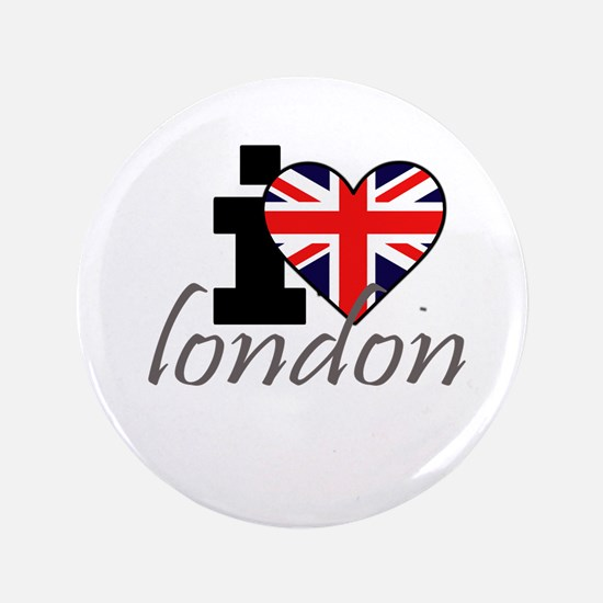 "I Love London 3.5"" Button"