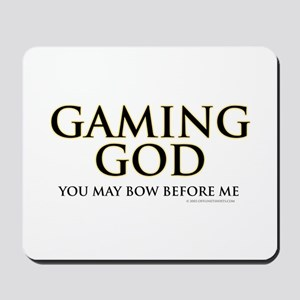 Gaming God Mousepad