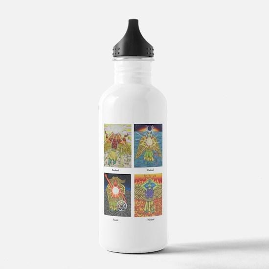 Four Archangels Water Bottle