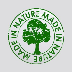 Made in Nature Ornament (Round)
