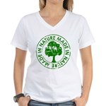 Made in Nature Women's V-Neck T-Shirt