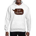 I love Chocolate Hooded Sweatshirt
