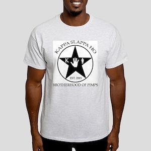 Kappa Slappa Ho (Star) Ash Grey T-Shirt