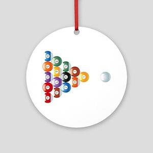 Biljart : Pool Ornament (Round)
