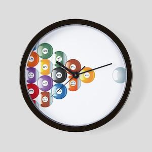 Biljart : Pool Wall Clock