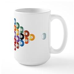 Biljart : Pool Large Mug