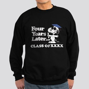 Snoopy Four Years Later Personal Sweatshirt (dark)