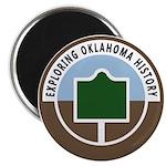 "Exploring Oklahoma History 2.25"" Magnet (10 p"