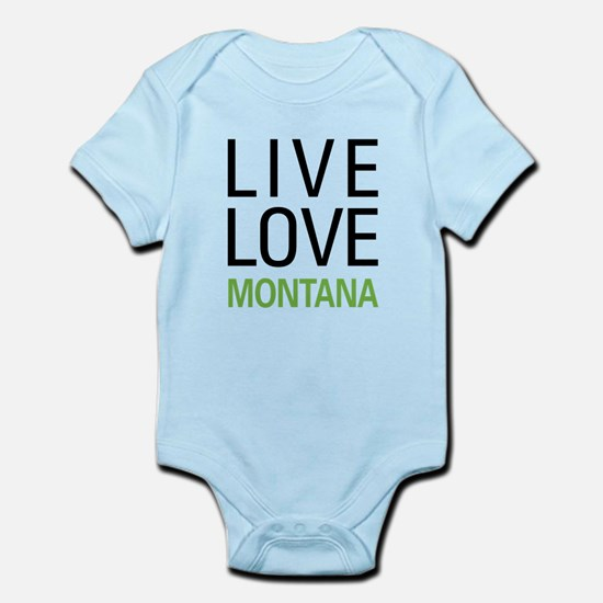 Live Love Montana Infant Bodysuit