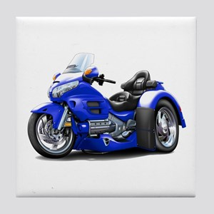 Goldwing Blue Trike Tile Coaster