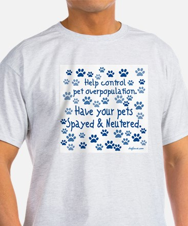 Help Control - Spayed & Neutered T-Shirt