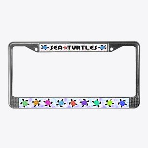 Sea Turtles License Plate Frame