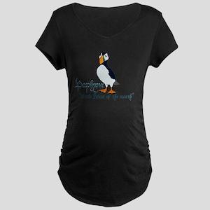 Puffin Maternity Dark T-Shirt