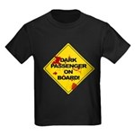 Dark Passenger On Board - Dex Kids Dark T-Shirt