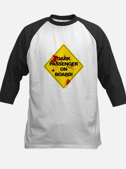 Dark Passenger On Board - Dex Kids Baseball Jersey