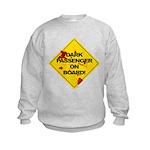 Dark Passenger On Board - Dex Kids Sweatshirt
