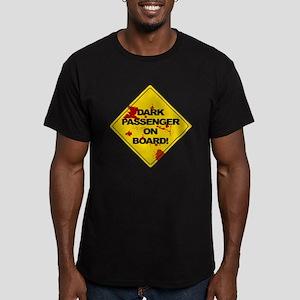 Dark Passenger On Board - Dex Men's Fitted T-Shirt