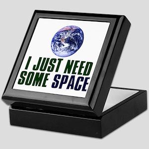 Astronaut Humor Keepsake Box