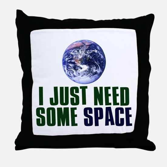 Astronaut Humor Throw Pillow