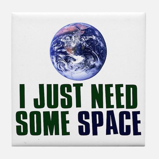 Astronaut Humor Tile Coaster