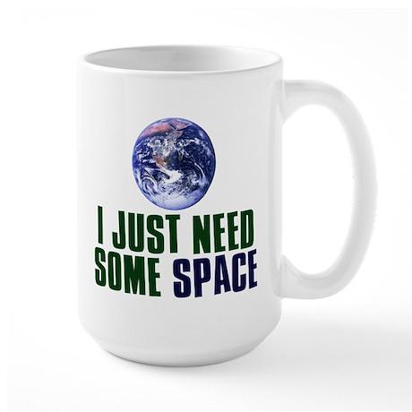 Astronaut Humor Large Mug