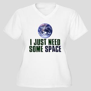 Astronaut Humor Women's Plus Size V-Neck T-Shirt