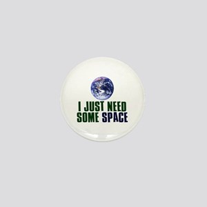 Astronaut Humor Mini Button