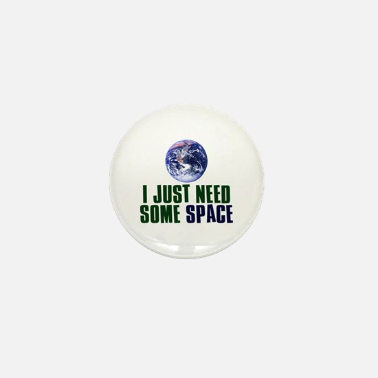 Astronaut Humor Mini Button