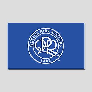 Queens Park Rangers Seal Car Magnet 20 x 12