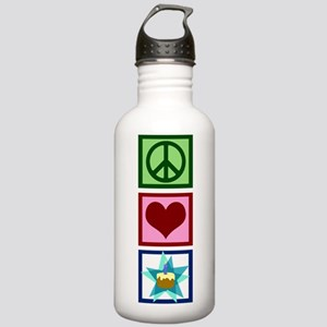 Peace Love Birthday Stainless Water Bottle 1.0L