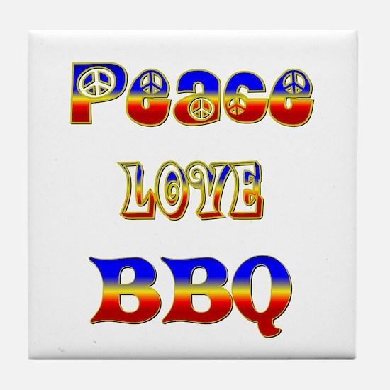 BBQ Tile Coaster