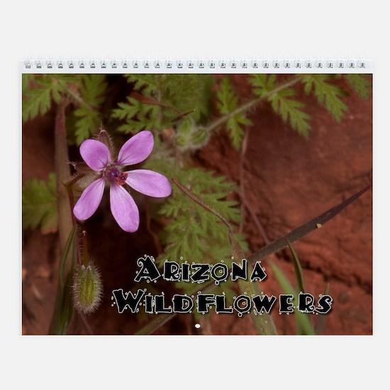 Sedona AZ Wildflowers Wall Calendar