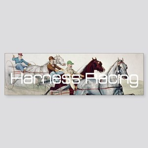 Harness Racing Sticker (Bumper)
