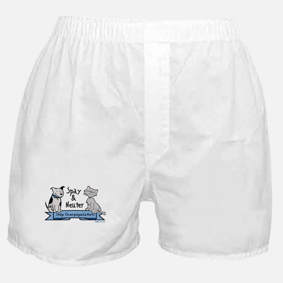 Stop Overpopulation Boxer Shorts