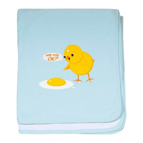Are you ok? baby blanket
