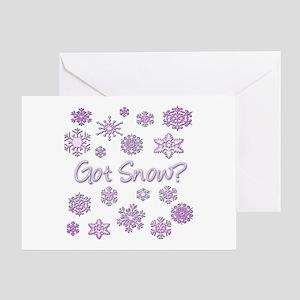 Got Snow? Greeting Card