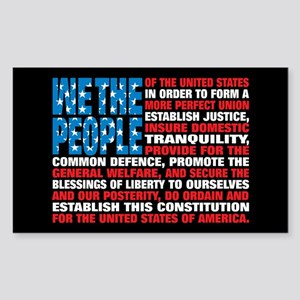 A New Twist on Old Glory Sticker (Rectangle 10 pk)