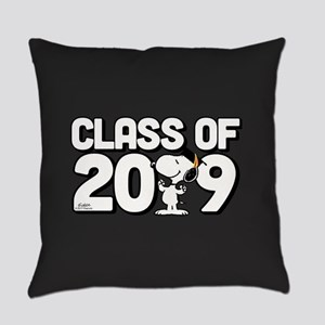 Snoopy Class of 2019 Everyday Pillow