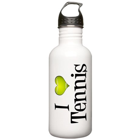 I Heart Tennis Stainless Water Bottle 1.0L