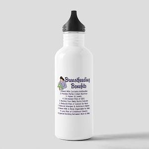 Breastfeeding Benefits Stainless Water Bottle 1.0L