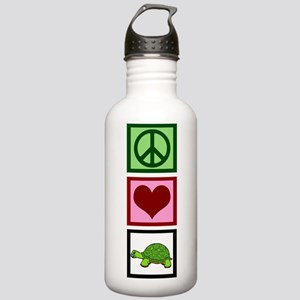 Peace Love Turtles Stainless Water Bottle 1.0L