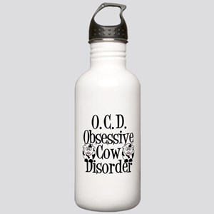 Obsessive Cow Disorder Stainless Water Bottle 1.0L