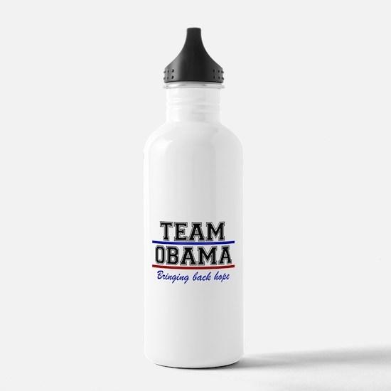 Team Obama Water Bottle