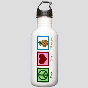 Peace Love Pineapple Stainless Water Bottle 1.0L
