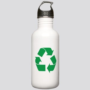 Green Recycle Stainless Water Bottle 1.0L
