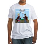 Turkey Farmer Fitted T-Shirt